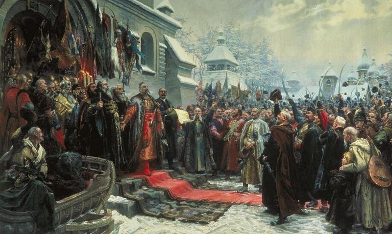 18 января 1654 года (8-го числа по ст. стилю) Переяславская Рада одобрила решение о воссоединении Украины с Россией