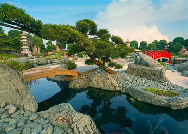 Хо Ши Мин Сити — японский сад во Вьетнаме