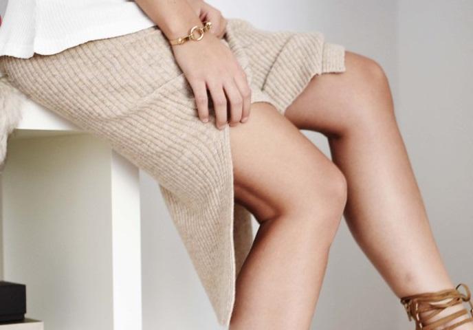 Актуальная вещь сезона. С чем носить вязаную юбку?