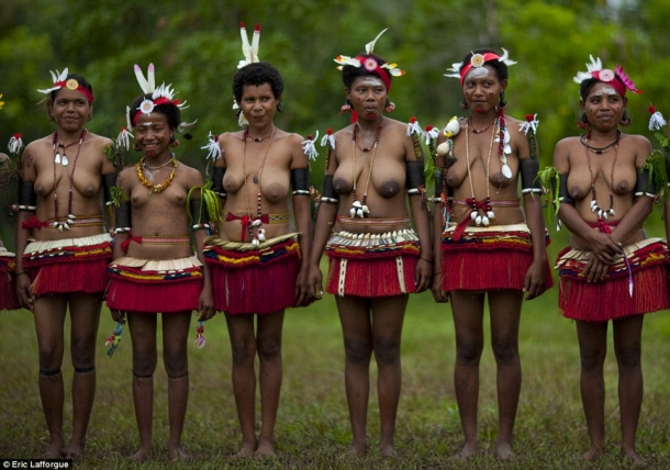 Сексуальные традиции в племенах