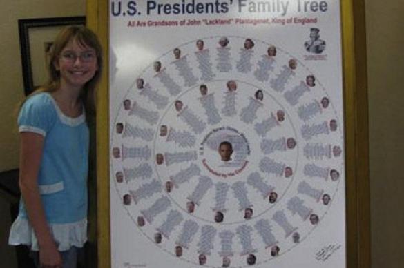 Открытие 12-летней девочки: все американские президенты - родственники Елизаветы II