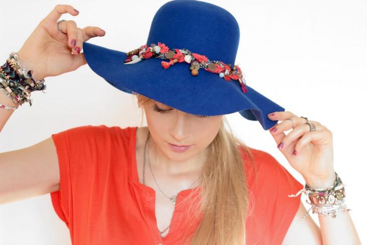 Шляпа в стиле бохо своими руками (Diy)