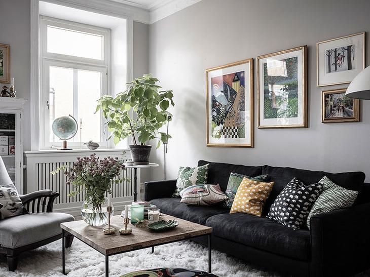 Традиционный шведский интерьер с душой