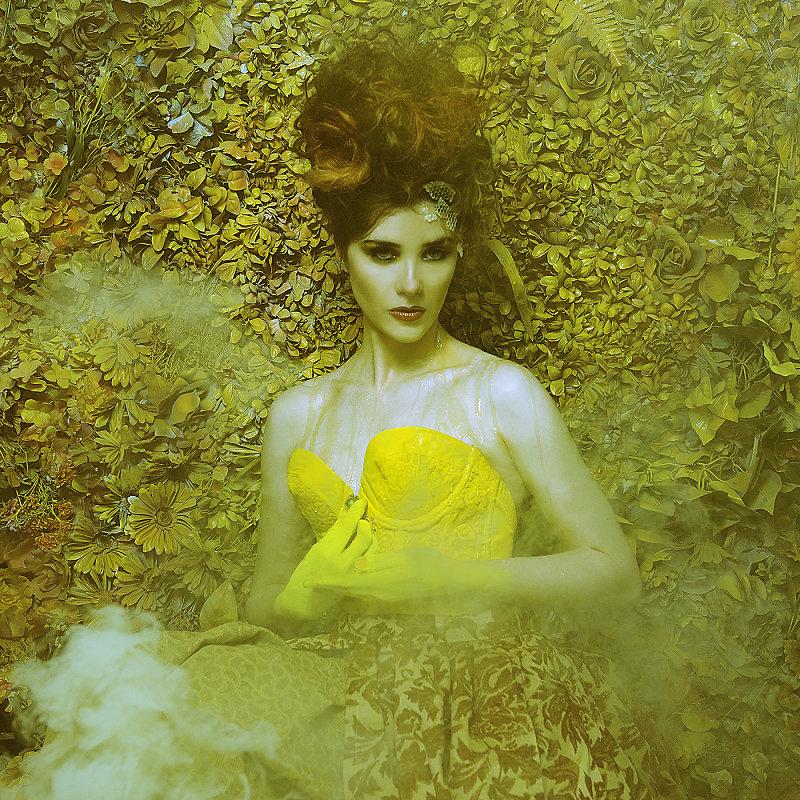 Фотопрект «Таинственный сад». Потрясающие сюрреалистические портреты фотографа Даниэлы Мэджик - 7