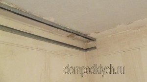 Двухъярусный потолок - как сделать нишу под карниз