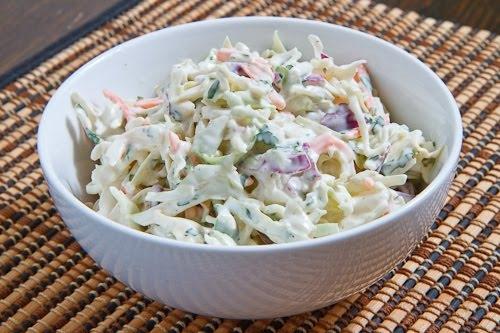 Простой салат с майонезом с пошаговым фото