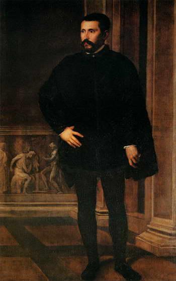 Тициан. Мужской портрет