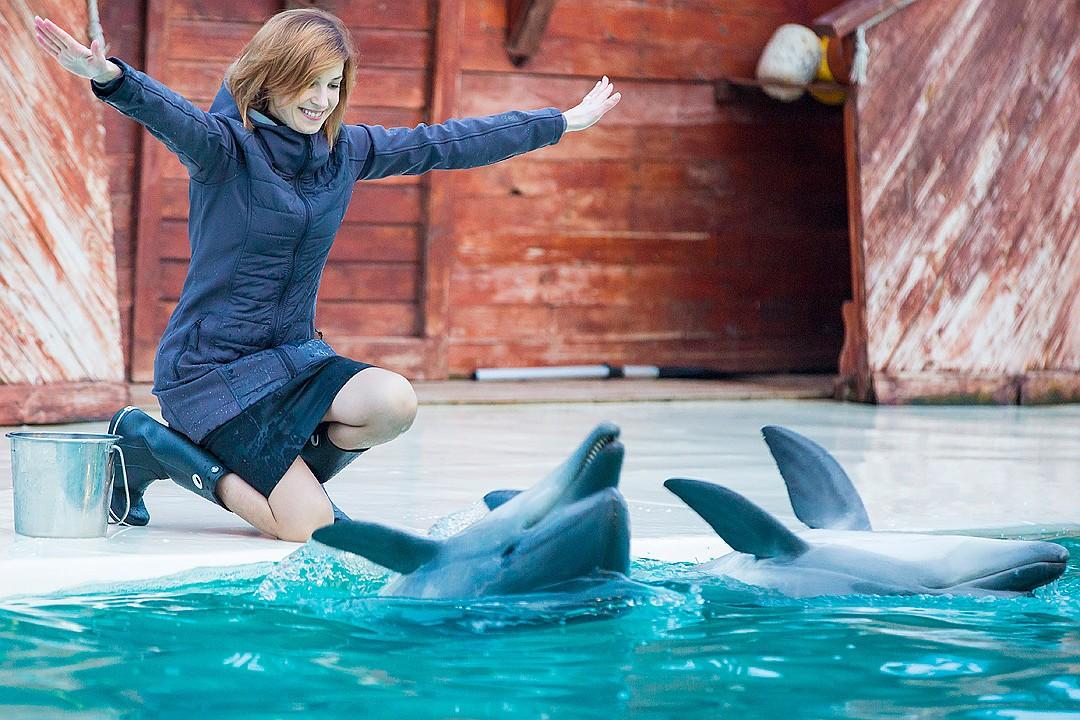 Няша и дельфины