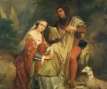 Франческо Петрарка и Лаура де Нёв. Вдохновение неразделенной любви