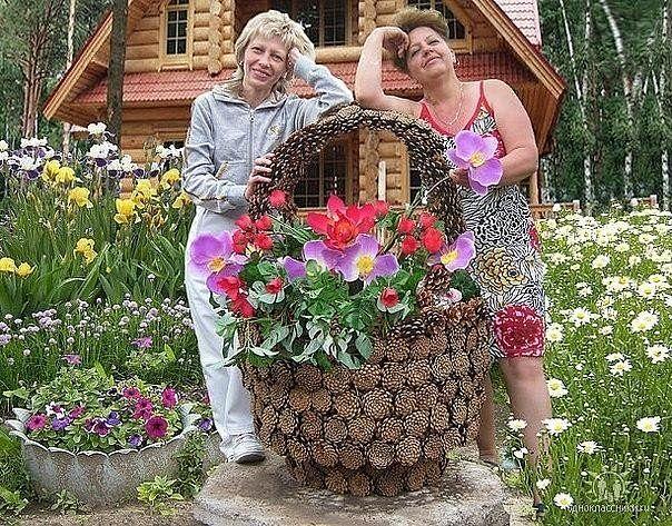 Идеи для сада и дачи своими руками из подручных материалов фото