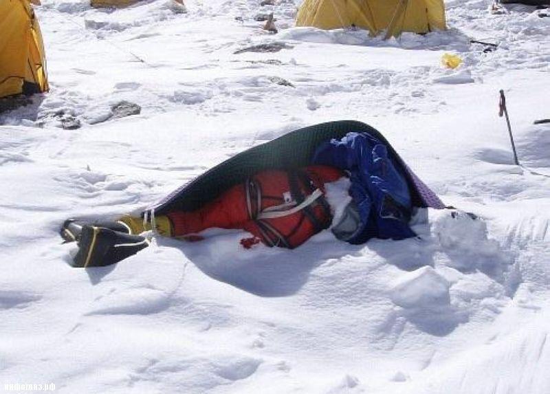 Кладбище на Эвересте эверест, горы