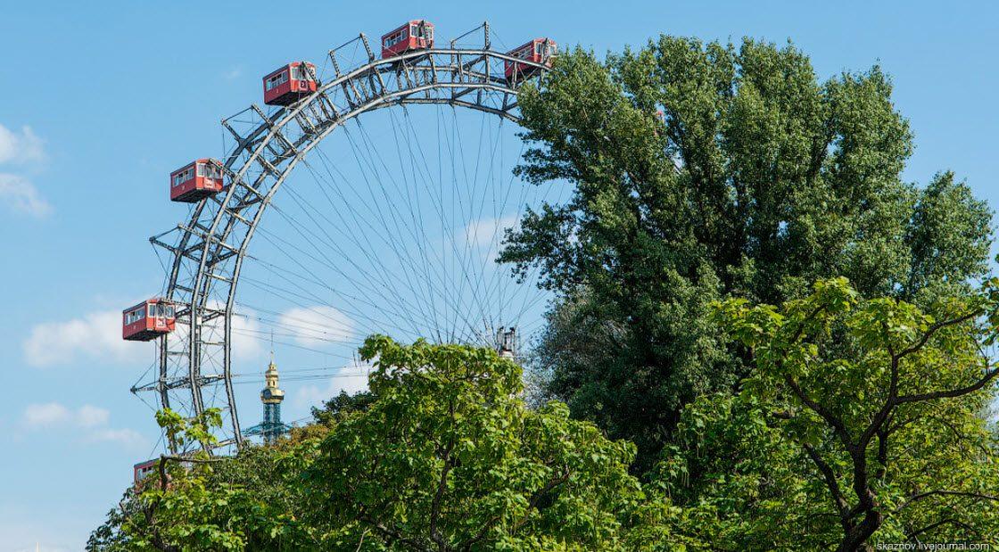 Самое старое колесо обозрения в мире