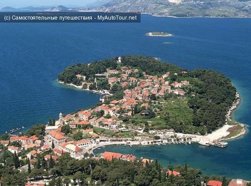 Цавтат - город-курорт в Хорватии