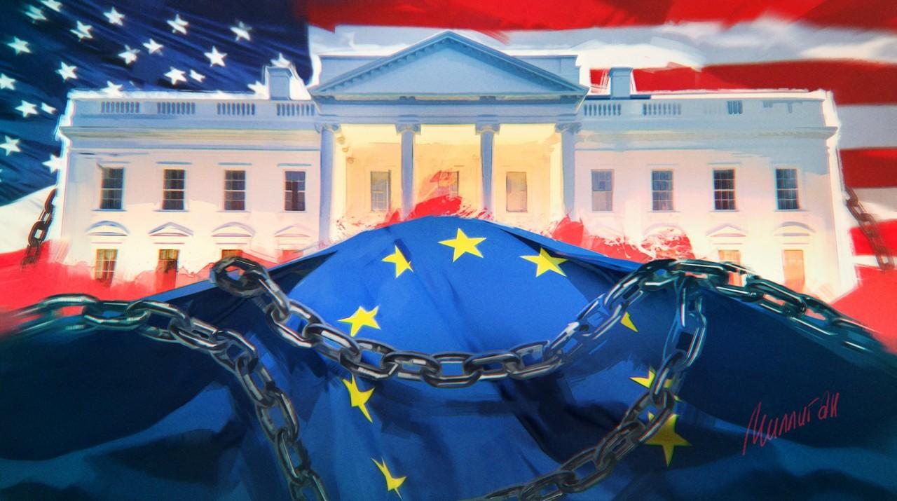 Почему Россия спасает Европу, а США топят