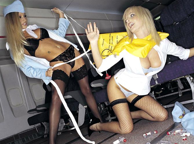 секс бортпроводницы