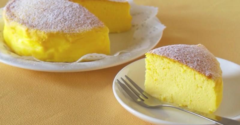 Торт только из трёх ингредиентов - гениальный рецепт из Японии