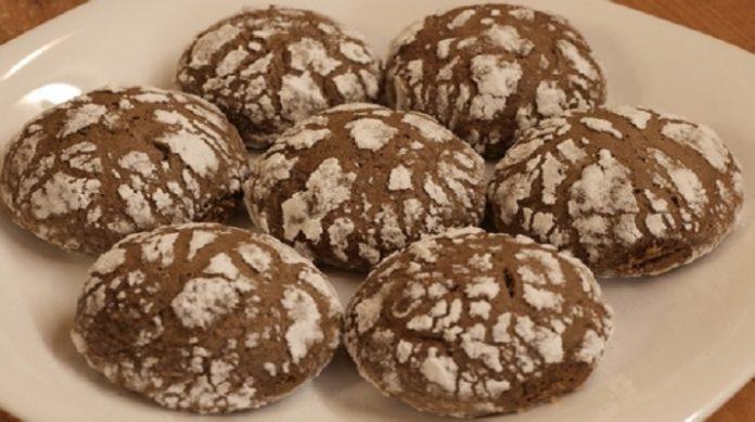 Необычное мраморное печенье