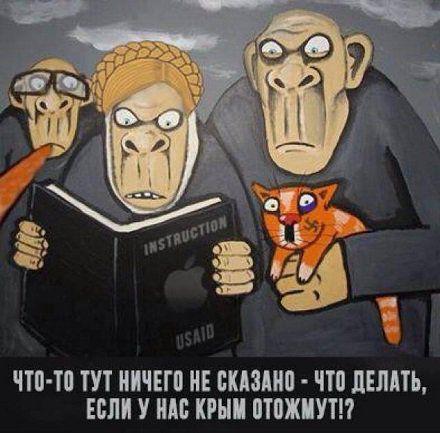 Записки украинской националистки из Крыма, (перевод с мовы)