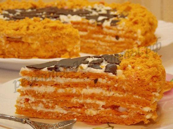рецепт торта Сахара