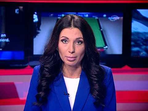 Ведущая новостей жжет - Габриела Анточел