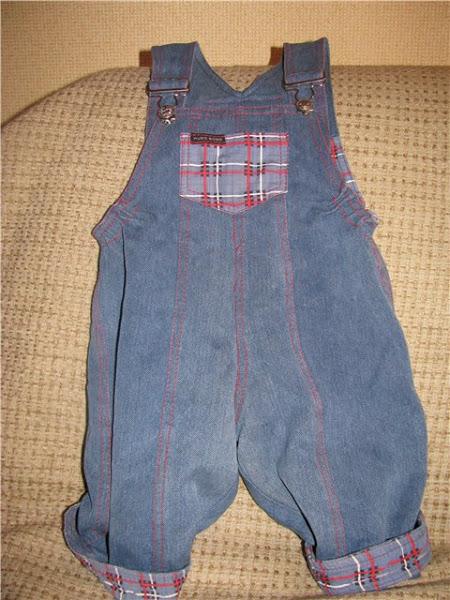 На детей из старых джинсов своими руками