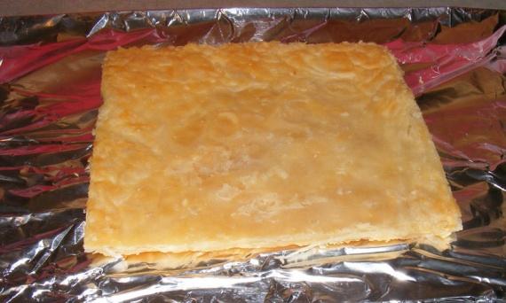 Тесто слоеное для тортов