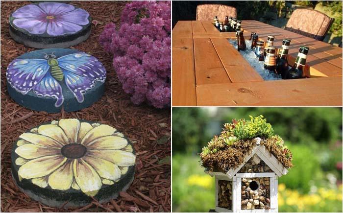 Доступные идеи оформления двора на зависть всем соседям