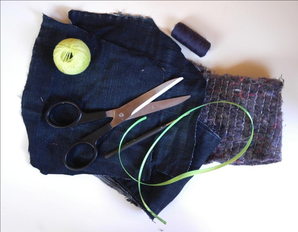 инструменты для работы с джинсами фото