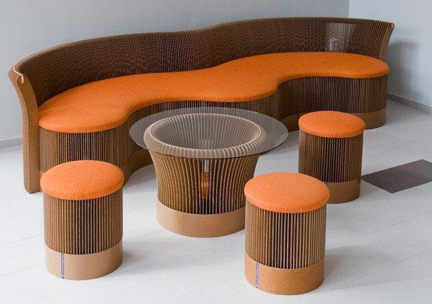 Мебель из картона своими рукам