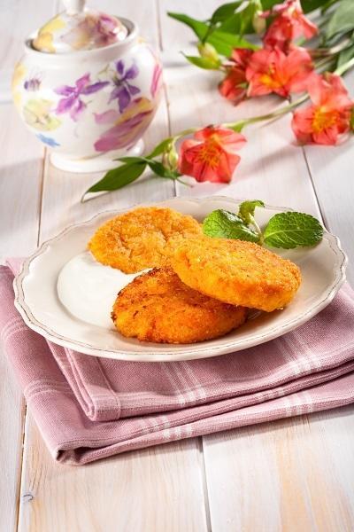 Нежные овощные котлеты с сыром
