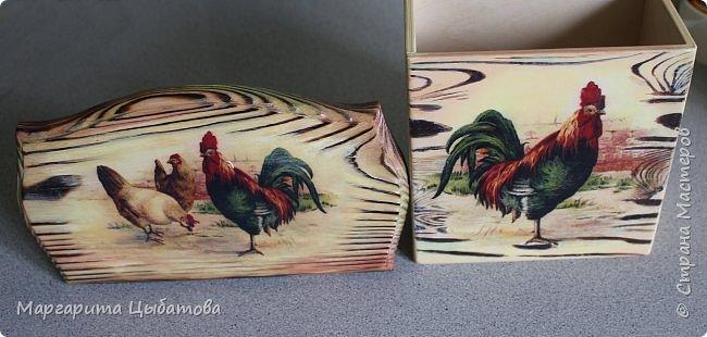 Декор предметов Мастер-класс День семьи Декупаж Ложный обжиг и браширование древесины Дерево Фанера фото 12