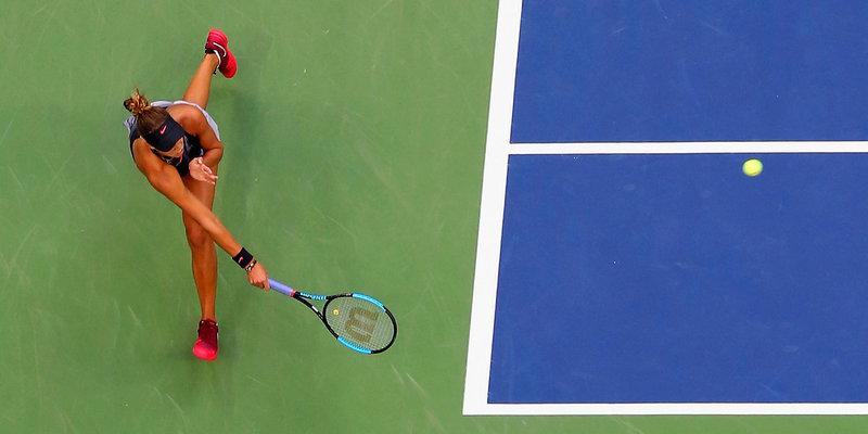Теннис. WTA Бирмингем. 1/2 финала
