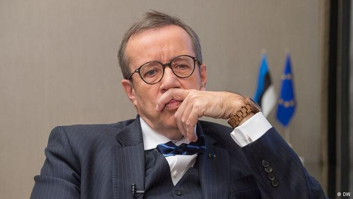 DW:Президент Эстонии: Русскоязычные не хотят стать частью России