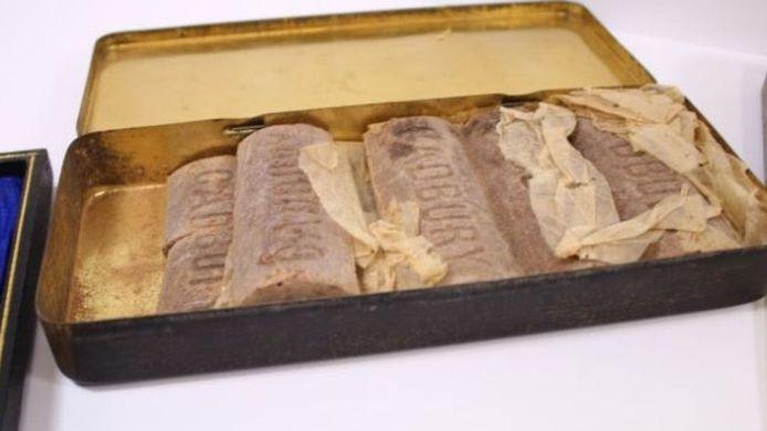 100-летний шоколад выставят на аукцион