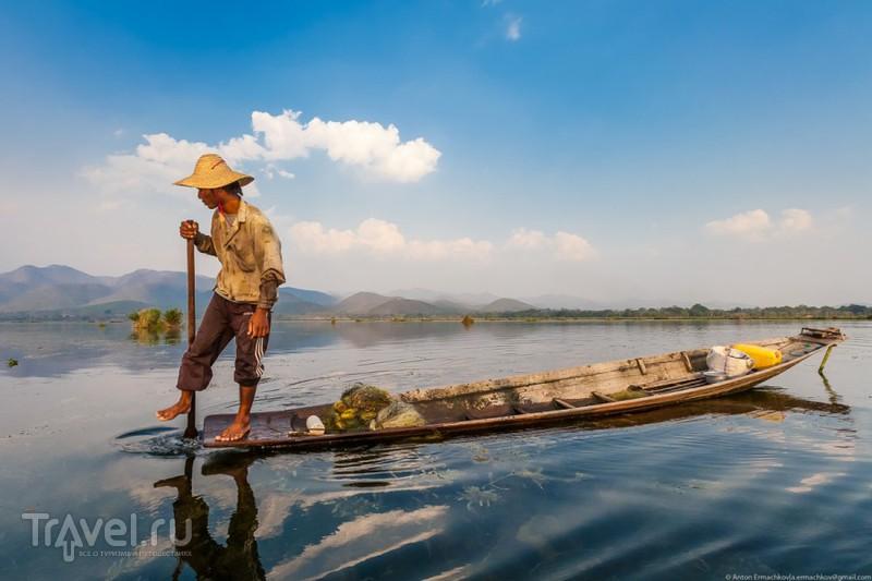 Бирма. Рыбаки озера Инле