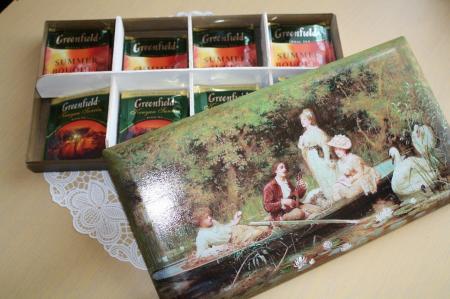 Коробочка для чайных пакетиков «Прогулка»
