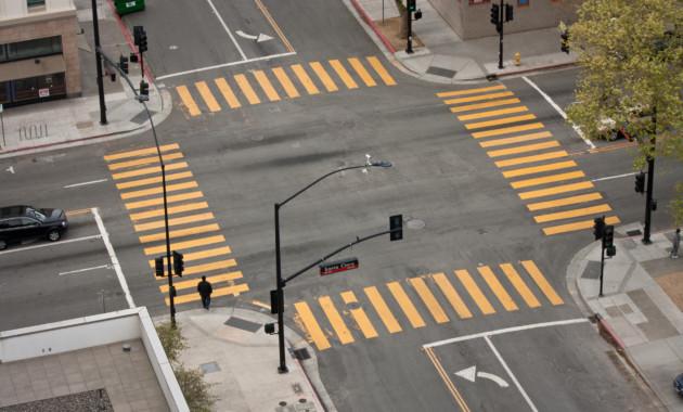 Каждое шестое ДТП в России происходит из-за нарушений проезда перекрёстков