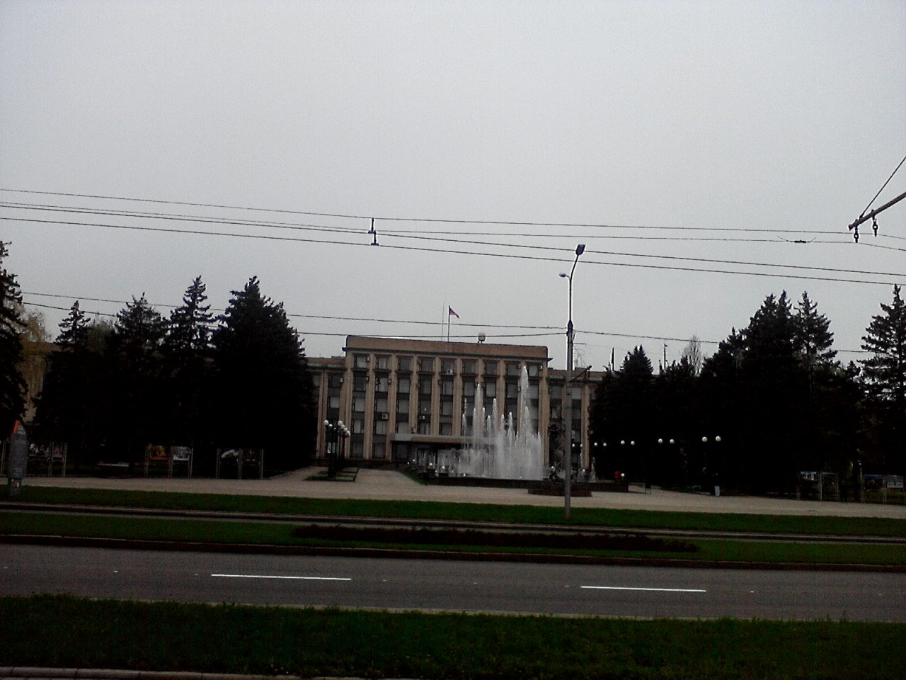 Донецк - очередные последствия евро-украинского майданизма