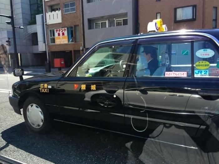 Такси по-японски.