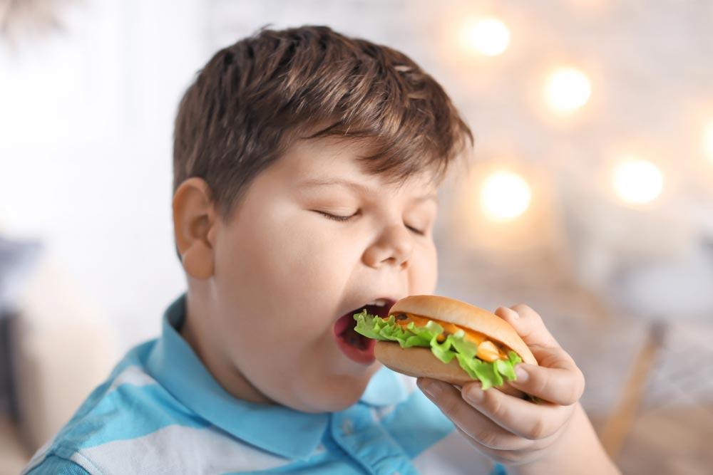 Ребенок толстеет