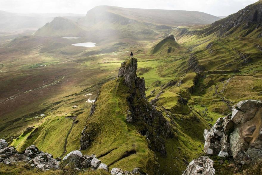 Поразительная и разнообразная природа Шотландии