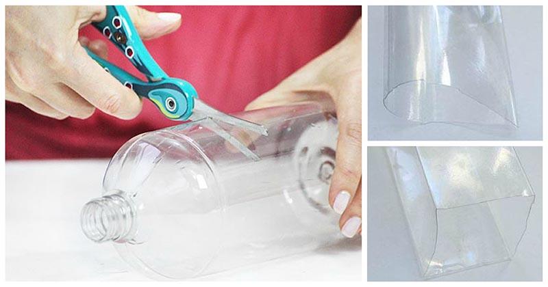 Из пластиковых бутылок можно сделать очень полезную и красивую вещь