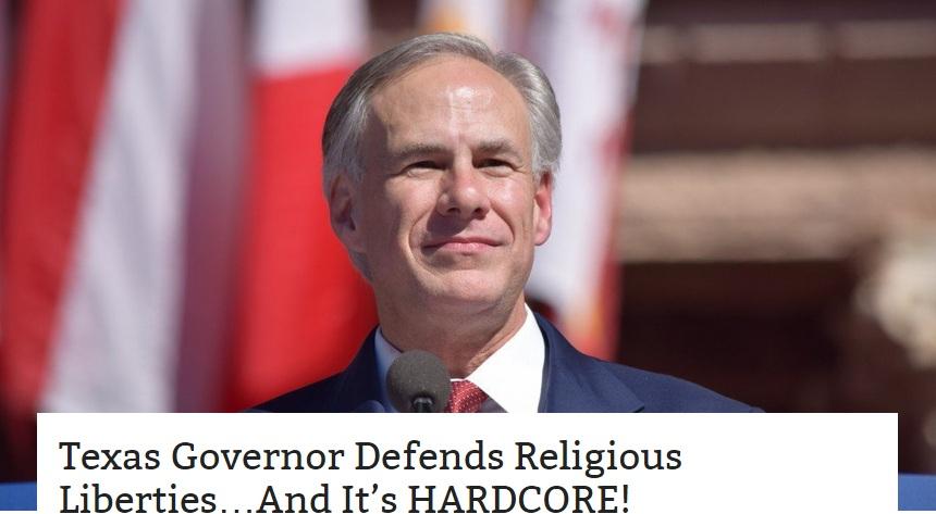 Техас отказался подчиняться содомскому Вашингтону