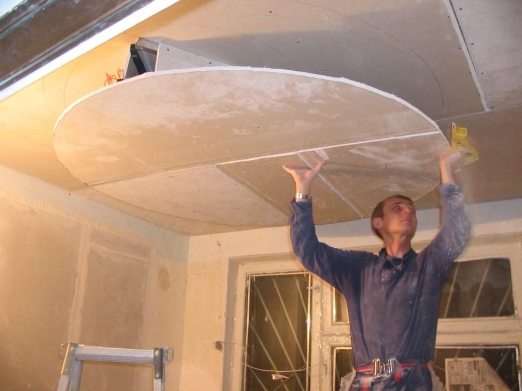 Как и чем можно сделать потолок своими руками