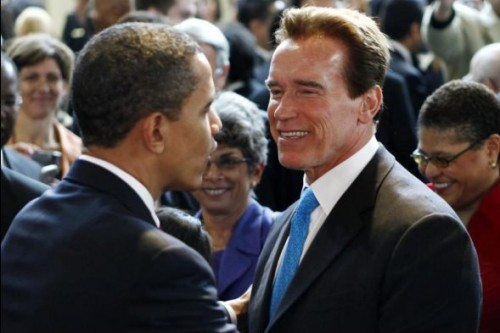 Арнольд Шварценеггер хотел бы сместить Барака Обаму