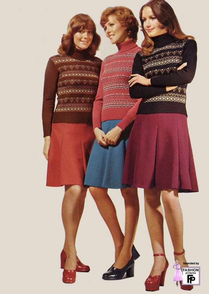 photo of girls 70's outfits № 2058
