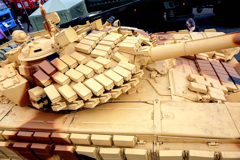Т-72БМЭ: секреты нового белорусского танка