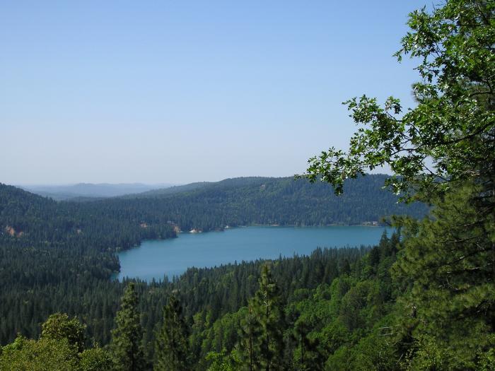 НЛО высосал воду из американского озера