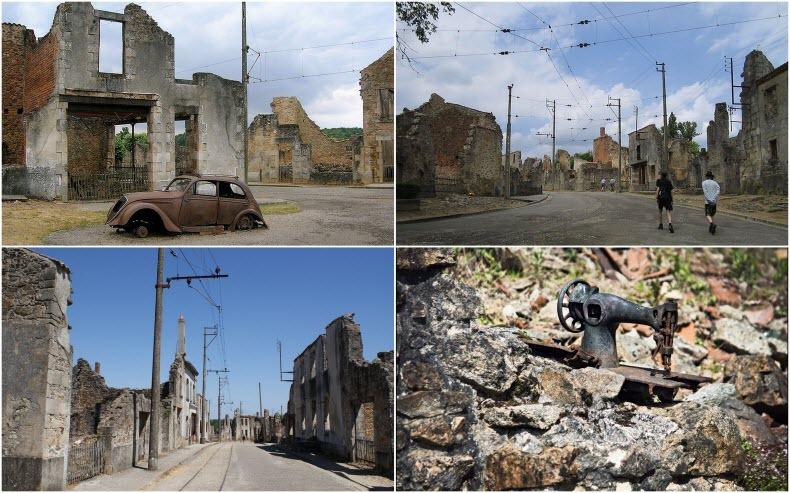 Орадур-сюр-Глан. Трагический город-памятник