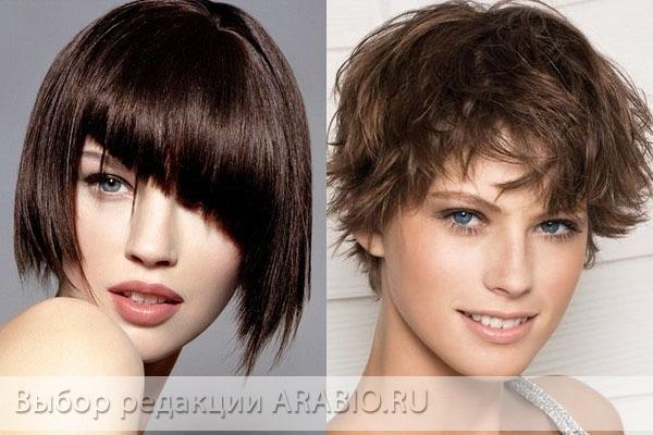 женские стрижки на короткие волосы классические